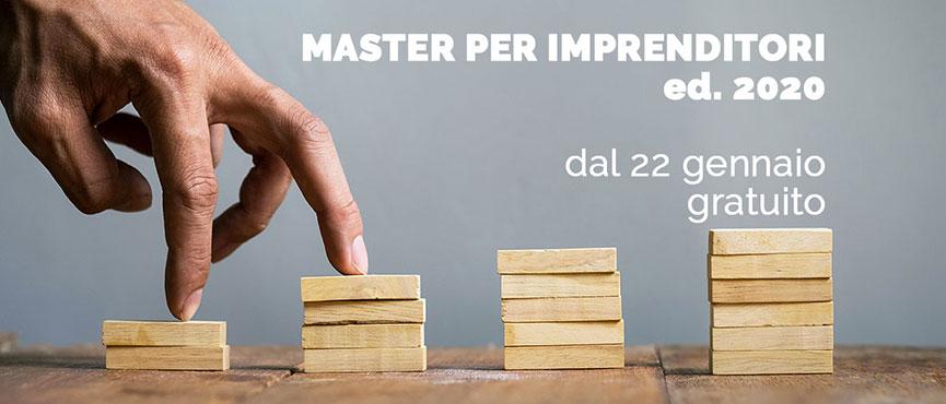 Master imprenditori 2020